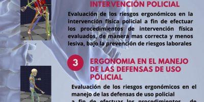 Curso de Ergonima en las intervenciones fisicas policiales